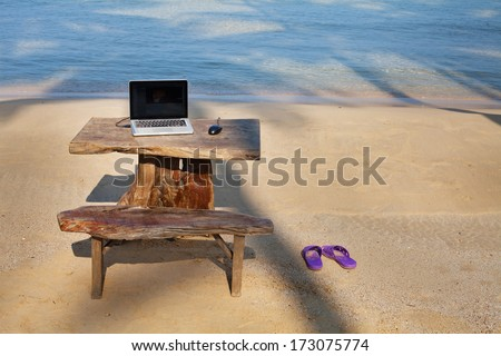 perfect work place - stock photo