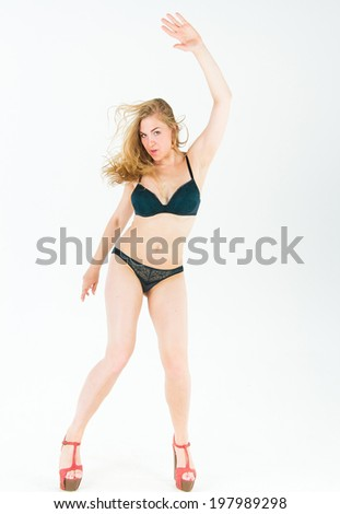 Perfection and Elegance Female Lingerie  - stock photo