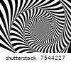 Perfectly Dizzying Spiral - stock vector