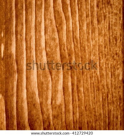 perfectly fine antique style wood surface background frame with vignette. in brownish colors, natural texturing, close-up, almost quadrangular in high resolution - stock photo