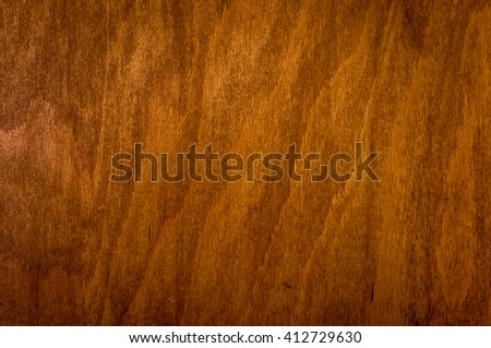 perfectly fine antique style wood surface background frame with vignette. with mild brown colors, antique, day light, close-up, detailed view - stock photo