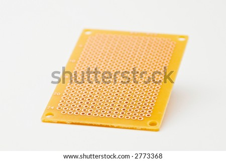 perforated circuit board stock photo edit now 2773368 shutterstock rh shutterstock com how to use perforated circuit board Phenolic Circuit Board