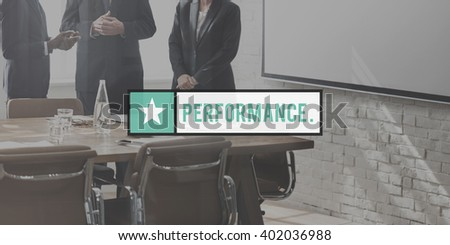 Performance Ability Skill Expertise Professional Experience Concept - stock photo