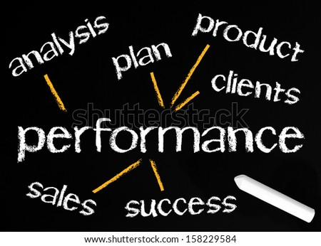 Performance - Business Concept - stock photo