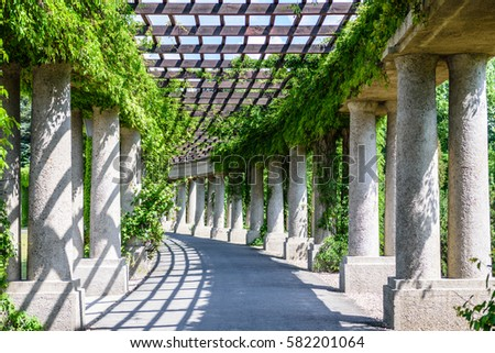Garden Archway Stock Images Royalty Free Images Vectors