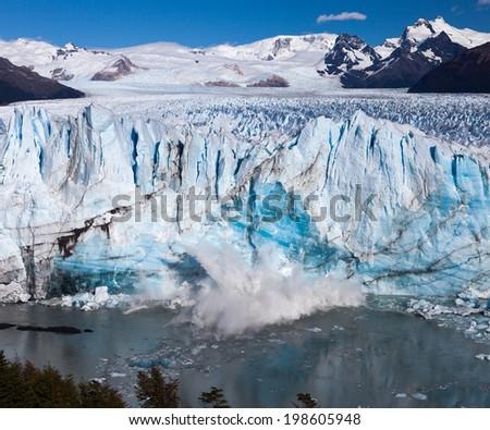 Perito Moreno Glacier - stock photo