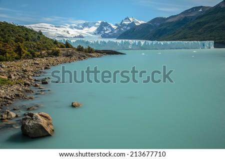 Perito Moreno Glacier, Patagonia - stock photo