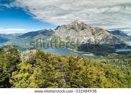 Perito Moreno Oeste lake, Argentina - stock photo