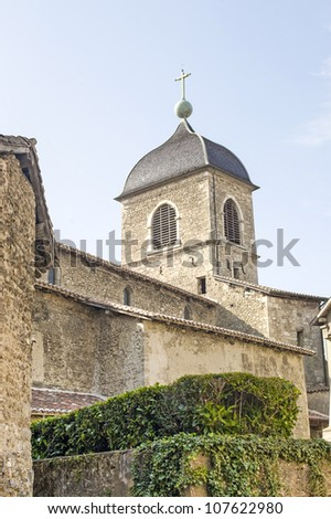 Perouges (Ain, Rhone-Alpes, France) - Buildings of the medieval village