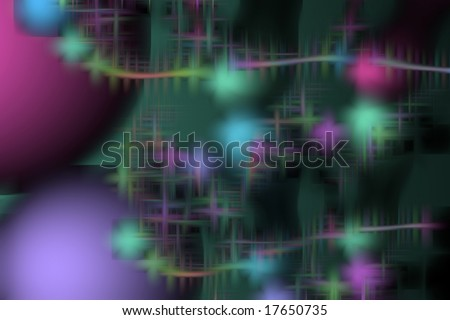 perple, violet and green background