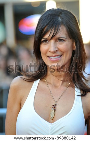 Perrey Reeves at the world premiere of The Change-Up at the Regency Village Theatre, Westwood. August 1, 2011  Los Angeles, CA Picture: Paul Smith / Featureflash