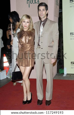 Perry Farrell and wife Etty at the 2007 Sony/BMG Grammy After Party. Beverly Hills Hotel, Beverly Hills, CA. 02-11-07