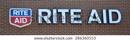PERRYSBURG, OH - JUNE 2: Rite Aid, whose Perrysburg, OH location logo is shown on June 2, 2015, has over 4,600 stores.