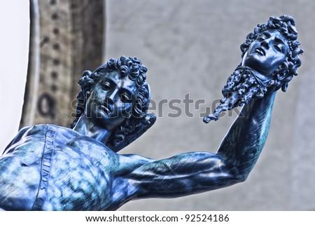 Perseus, Florence - stock photo