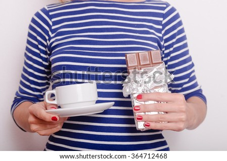 Close Pregnant Woman Drinking Red Wine Stock Photo ...