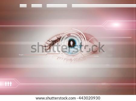 Person identifation - stock photo