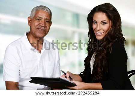 Person in need having a counseling session - stock photo