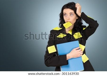 Personal Organizer, Planning, Women. - stock photo