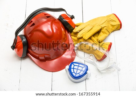 Personal Protection Equipment - stock photo