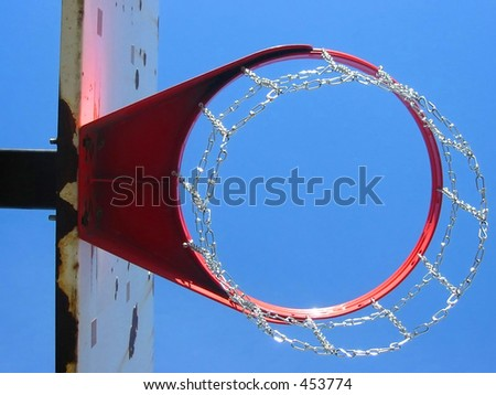 Perspective, Chain Basketball Hoop
