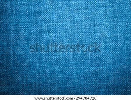 Perspective composition closeup view to abstract space of empty light blue natural clean dark denim texture for business background in cold bright colors with diagonal shift tilt lines and stitches - stock photo