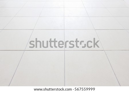 Perspective Floor Tiles White Vignette Can Stock Photo Download Now