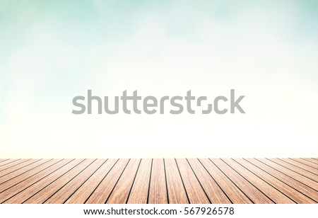 light wood floor perspective. Perspective Wood Floor Brown Color Texture With Beautiful Nature Background. Abstract Simple Hardwood Photography Light