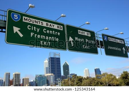 Perth. Western Australia - stock photo