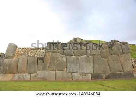 peru/Incas trial/cuzco - stock photo