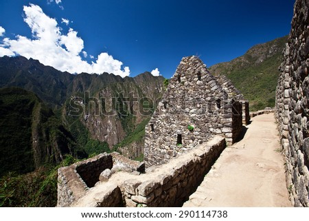 Peru - Machu Picchu archeological site