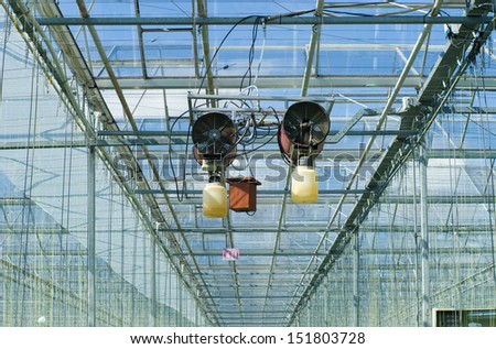 pest control in a commercial greenhouse