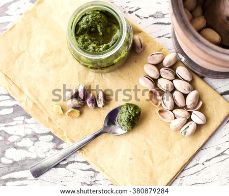 PESTO OF PISTACHIO