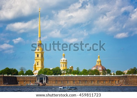Peter and Paul Fortress, St.Petersburg, Russia