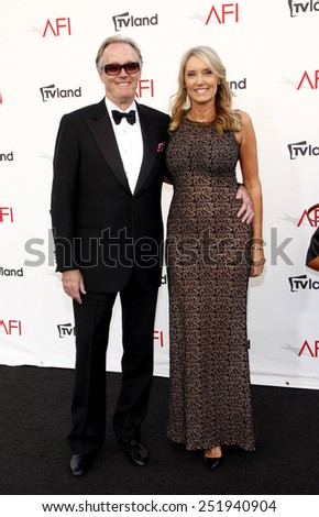 Peter Fonda at the 40th AFI Life Achievement Award Honoring Shirley MacLaine held at the Sony Studios in Los Angeles, United States, 070612. - stock photo