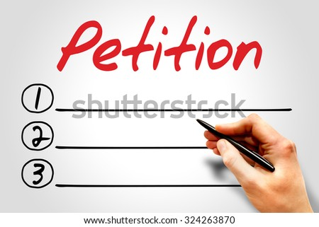 Business petition
