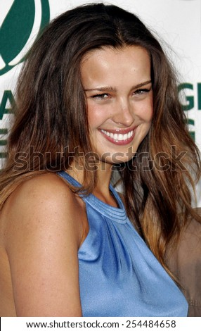 Petra Nemcova attends the Global Green USA Pre-Oscar Celebration to Benefit Global Warming held at the The Avalon in Hollywood, California on February 21, 2007.  - stock photo