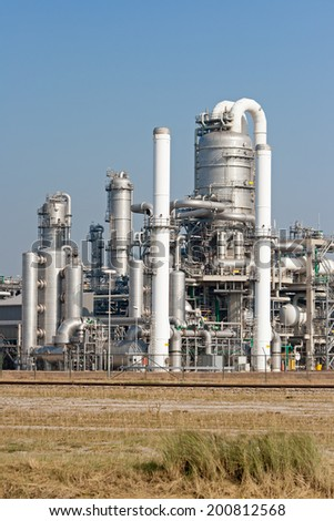 petrochemical industry  - stock photo