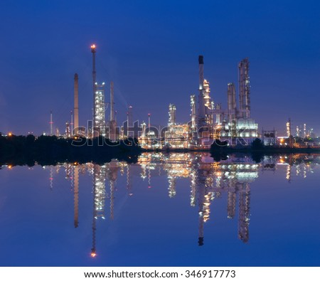 Petrochemical industry power station in Thailand