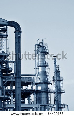Petrochemical processing equipment