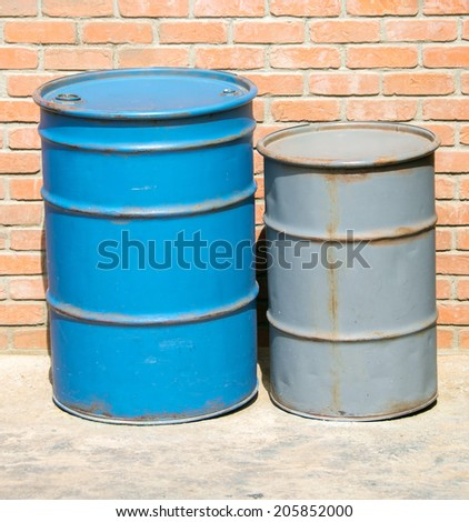 petroleum barrell - stock photo