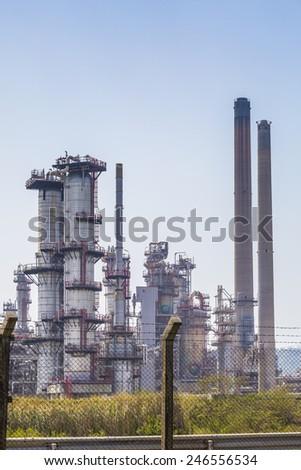 Petroleum plant - stock photo