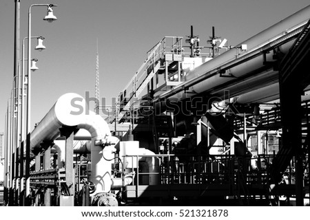 Petroleum products transshipment terminal