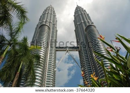Petronas Towers - stock photo