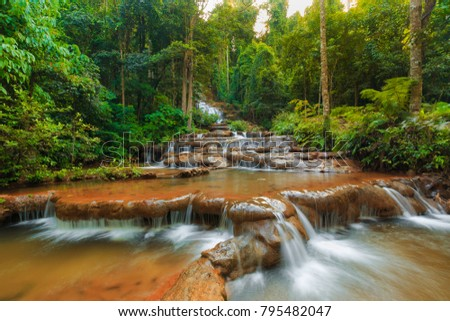Pha Charoen Waterfall, National Park Thailand