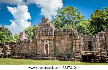 Phanom Rung historical park ,An old Architecture about a thousand years ago at Buriram Province,Thailand