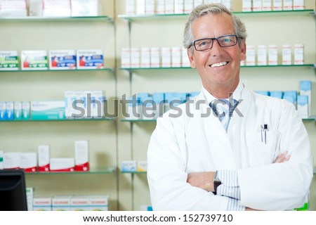pharmacy store - stock photo