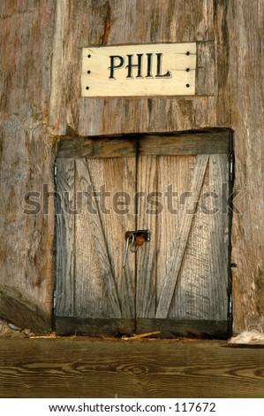 Phil's House - stock photo