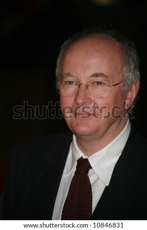 "Philip Pullman arrives at the world premiere of ""The Golden Compass"" at the Odeon Leicester Square on November 27, 2007 in London, England"