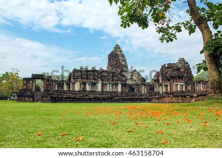 Phimai Historical Park, located in the district Phimai , Nakhon Ratchasima province.