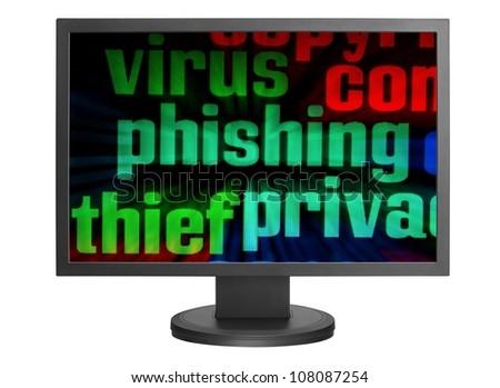 Phishing concept - stock photo
